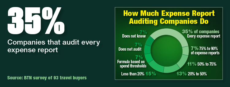 How Much Expense Report Auditing Companies Do